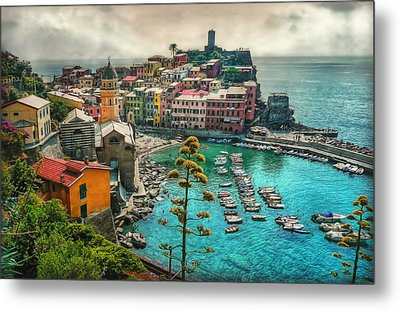The Colors Of Italy Metal Print by Hanny Heim