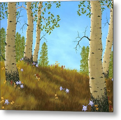 The Colors Of Nature Metal Print by Rick Bainbridge