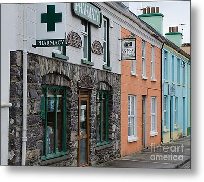 The Colors Of Sneem Metal Print by Mary Carol Story