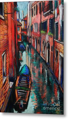 The Colors Of Venice Metal Print by Mona Edulesco