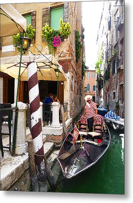 The Colors Of Venice Metal Print