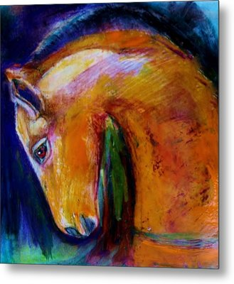 The Colt Metal Print by Jean Cormier