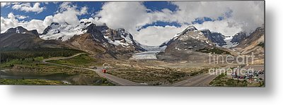 The Columbia Icefield Metal Print by Charles Kozierok