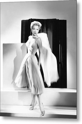 The Come On, Anne Baxter Metal Print