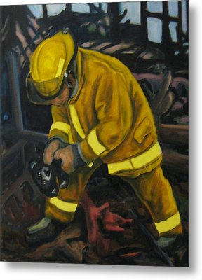 The Compulsion Towards Heroism Metal Print by John Malone