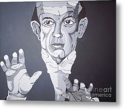 The Conductor Metal Print by Lucia Grilletto