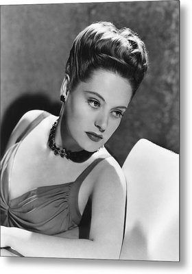 The Constant Nymph, Alexis Smith, 1943 Metal Print by Everett