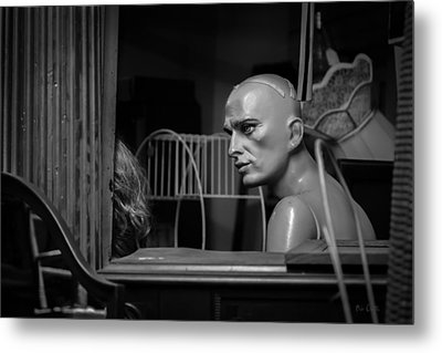 The Conversation Metal Print by Bob Orsillo