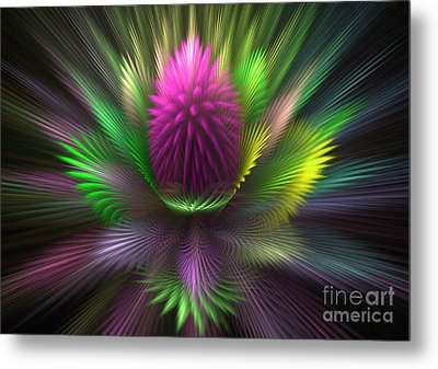 The Core Metal Print by Svetlana Nikolova