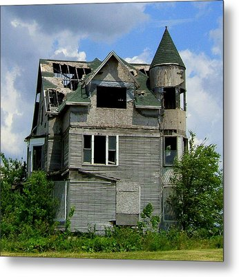 The Corn Castle Metal Print
