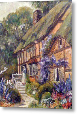 The Cottage Metal Print by Donna Tucker