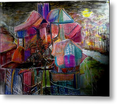The Cottage Of The Artist Metal Print