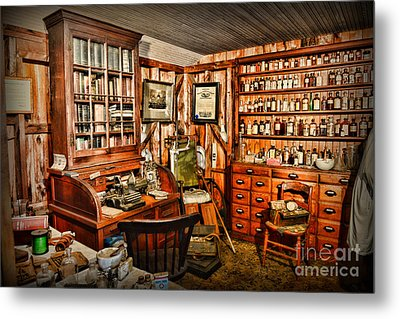 The Country Doctor Metal Print by Paul Ward