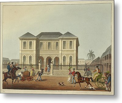 The Court House Metal Print by British Library