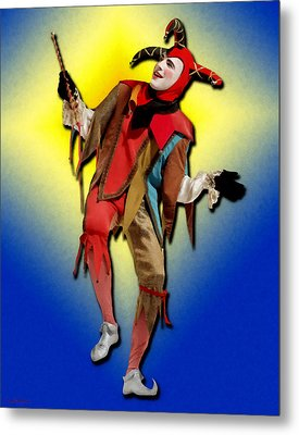 The Court Jester Metal Print