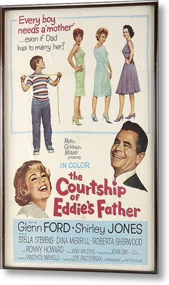 The Courtship Of Eddie's Father Metal Print by Mountain Dreams
