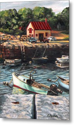 The Cove Metal Print by Eileen Patten Oliver