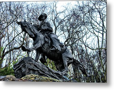 The Cowboy Metal Print by Bill Cannon