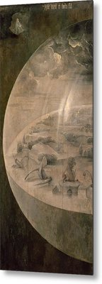 The Creation Of The World Metal Print by Hieronymus Bosch