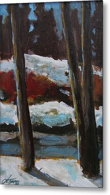 The Creek Metal Print by Suzanne Tynes