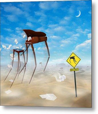 The Crossing 2 Metal Print by Mike McGlothlen