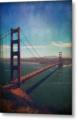 The Crossing Metal Print by Laurie Search