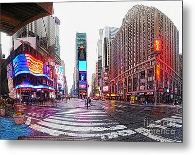 The Crossroads Of The World Metal Print by Nishanth Gopinathan