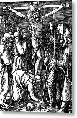 The Crucifixion Metal Print by Albrecht Durer