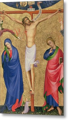 The Crucifixion Metal Print by Dutch School