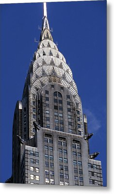 The Crysler Building Metal Print by Jon Neidert