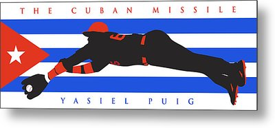 The Cuban Missile Metal Print by Ron Regalado