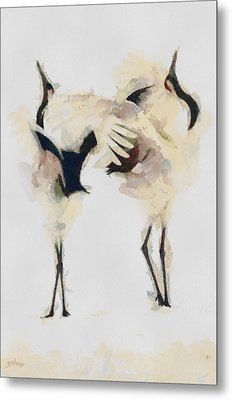 Metal Print featuring the painting The Dance by Georgi Dimitrov
