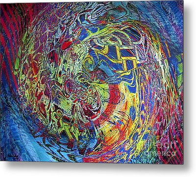 The Dance Of Life Metal Print by Dov Lederberg