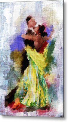 The Dance Metal Print