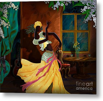 The Dancer Act 1 Metal Print by Bedros Awak