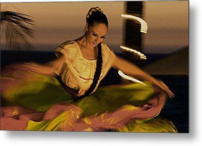 Metal Print featuring the photograph The Dancer II by Chuck Caramella