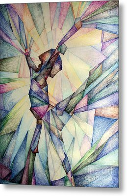 The Dancer Metal Print by Jennifer Apffel