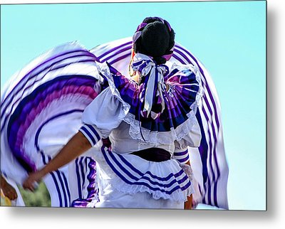 The Dancer Metal Print by Menachem Ganon