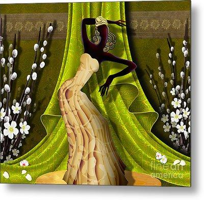 The Dancer V3 Metal Print by Bedros Awak