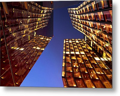 The Dancing Towers Metal Print by Marc Huebner