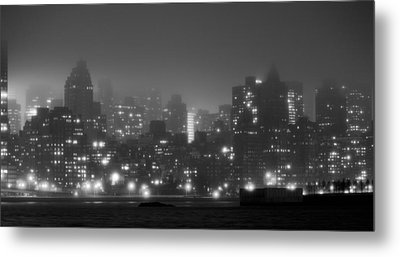 The Dark And Stormy Night Metal Print by JC Findley