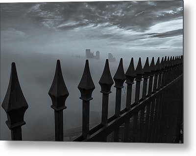 The Dark Night Metal Print by Jennifer Grover