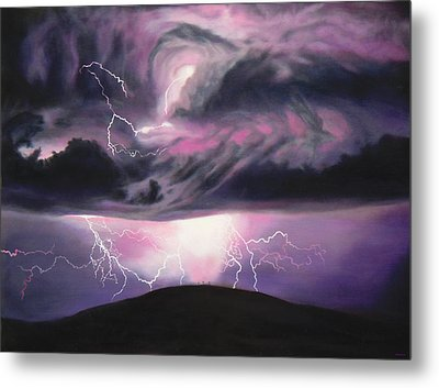 The Darkest Day Metal Print by Anastasia Savage Ealy