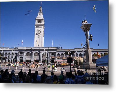 The Day The Circus Came To Town Again Dsc1745 Metal Print by Wingsdomain Art and Photography