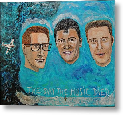 The Day The Music Died. Metal Print by Ken Zabel