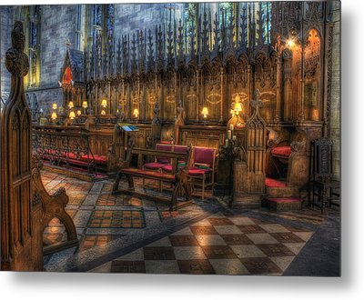 The Dean's Seat Metal Print by Ian Mitchell