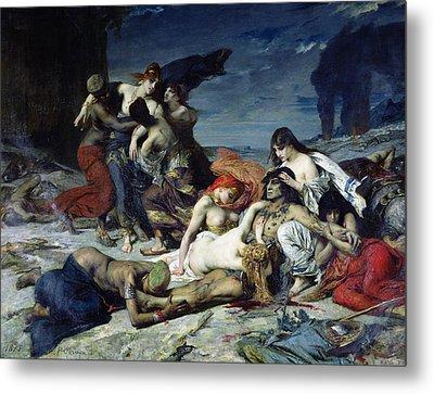 The Death Of Ravana Metal Print by Fernand Cormon