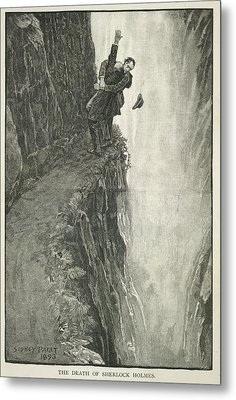 The Death Of Sherlock Holmes Metal Print by British Library
