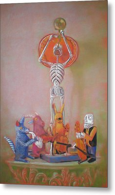 The Death Trumpet Metal Print by Paez  ANTONIO