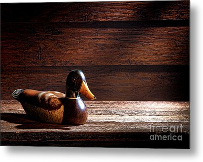 The Decoy Metal Print by Olivier Le Queinec